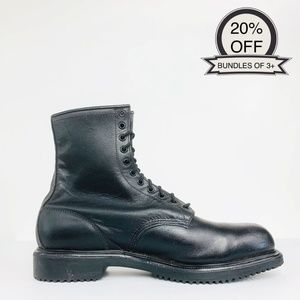 Red Wing Shoes | 4473 Black Supersole Boots | 14
